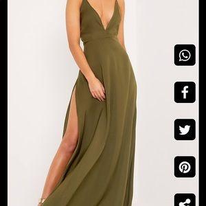 Dresses & Skirts - Strappy maxi dress